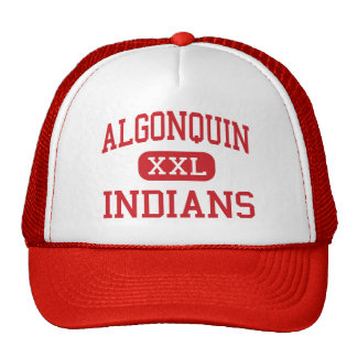 Algonquin - Indians - Middle - Algonquin Illinois Trucker Hat