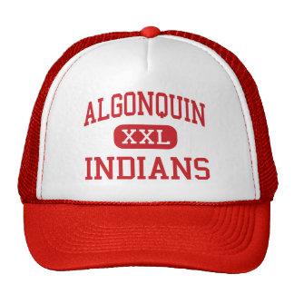 Algonquin - Indians - Middle - Algonquin Illinois Trucker Hat