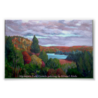 ALGONQUIN PARK PANORAMA POSTER