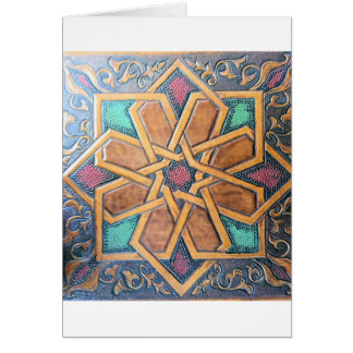 Alhambra Design #1 Card