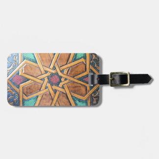 Alhambra Design #1 Luggage Tag
