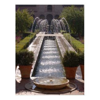 Alhambra Fountain Postcard
