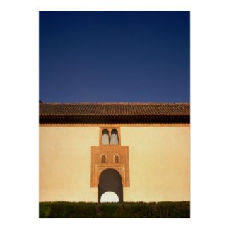 Alhambra Golden Arch Gateway Poster