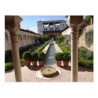 Alhambra, Granada Spain Postcard