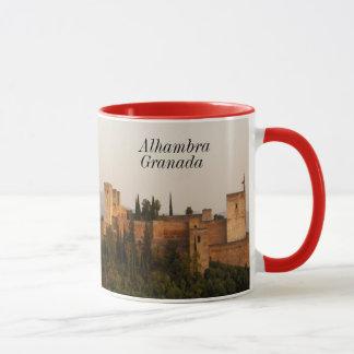 Alhambra Granada Spain Ringer Mug