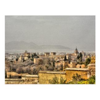 Alhambra Palace, Granada, Spain Postcard