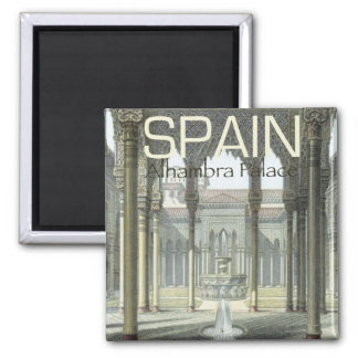 Alhambra Palace Spain Souvenir Fridge Magnet