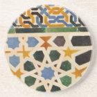 Alhambra Wall Tile #3 Coaster