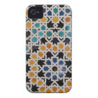 Alhambra Wall Tile #9 iPhone 4 Case