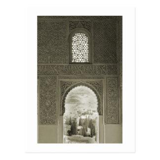 Alhambra Window Postcard