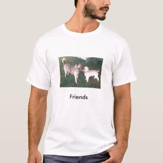 Ali'i & Bailey 8-2008 smaller, Friends T-Shirt