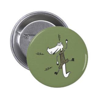 Ali Gator 2 Inch Round Button