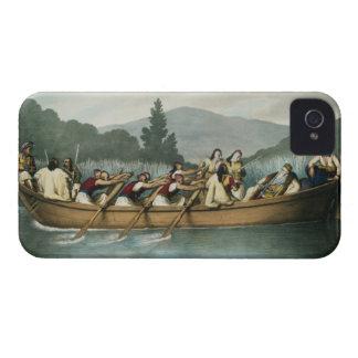 Ali Pasha (1741-1822) of Janina hunting on Lake Bu iPhone 4 Case