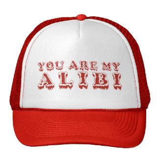 ALIBI hat