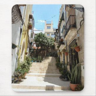 Alicante historic street. Mouse Pad
