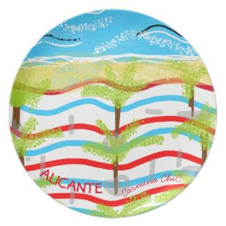 Alicante plate