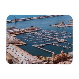 Alicante Rectangular Photo Magnet