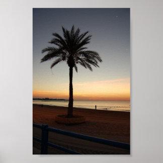 Alicante Sunrise Poster