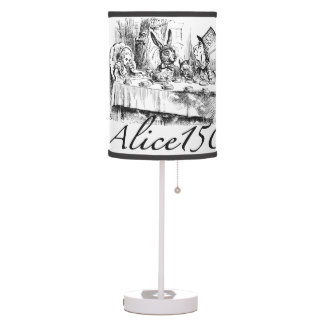 Alice150 Alice in Wonderland 150th Anniversary Table Lamp