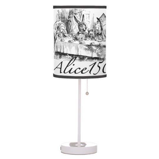 Alice150 Alice in Wonderland 150th Anniversary Table Lamp