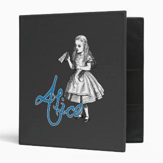 Alice 3 Ring Binder
