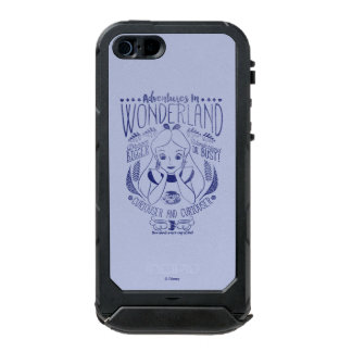 Alice | Adventures In Wonderland Incipio ATLAS ID™ iPhone 5 Case
