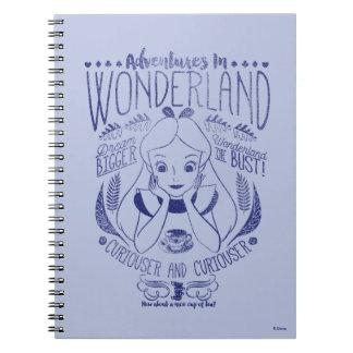 Alice | Adventures In Wonderland Notebooks