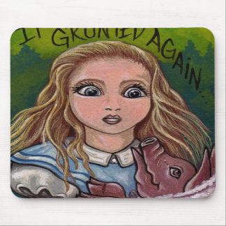 ALICE Alice in Wonderland Mouse Pad