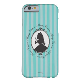 Alice | Always Curious Barely There iPhone 6 Case