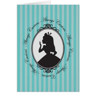 Alice | Always Curious Card