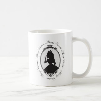 Alice | Always Curious Coffee Mug