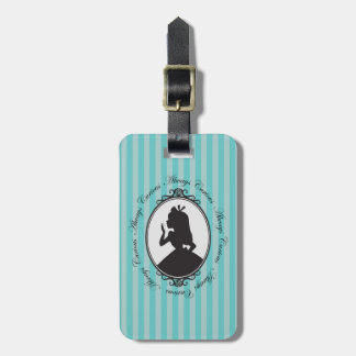 Alice | Always Curious Luggage Tag