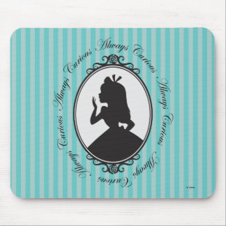 Alice | Always Curious Mouse Pad