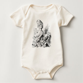 Alice and a Box of Animals Baby Bodysuit