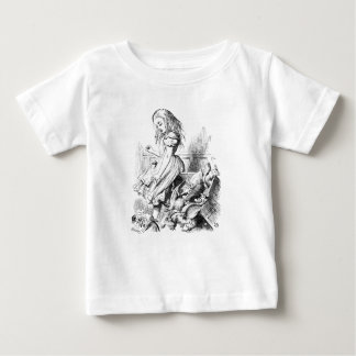 Alice and a Box of Animals Baby T-Shirt