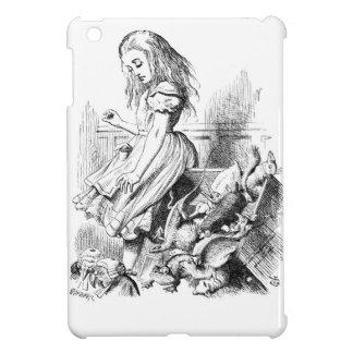 Alice and a Box of Animals iPad Mini Cover