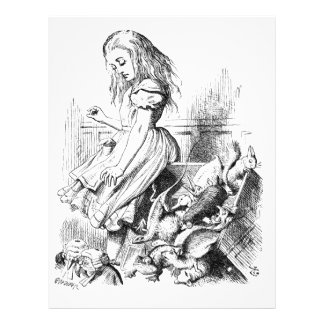 Alice and a Box of Animals Letterhead