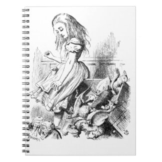 Alice and a Box of Animals Notebook