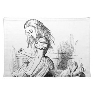 Alice and a Box of Animals Placemat