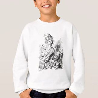 Alice and a Box of Animals Sweatshirt