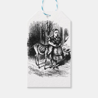 Alice and a Fawn Gift Tags