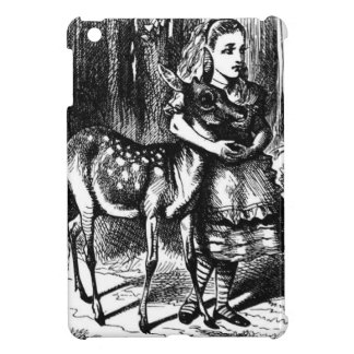 Alice and a Fawn iPad Mini Cases