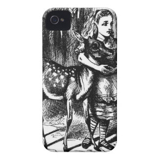 Alice and a Fawn iPhone 4 Covers