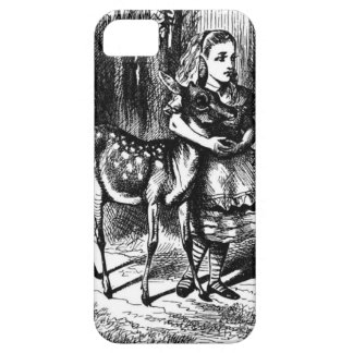 Alice and a Fawn iPhone 5 Cover