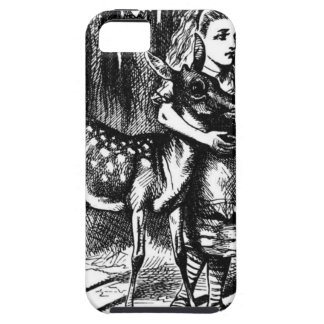 Alice and a Fawn iPhone 5 Covers