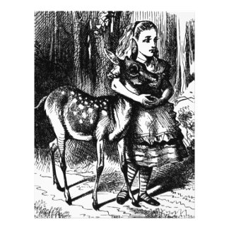 Alice and a Fawn Letterhead