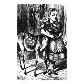 Alice and a Fawn Stationery