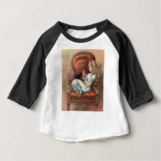 Alice and her Kitten Baby T-Shirt