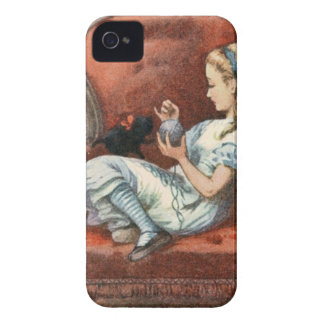 Alice and her Kitten Case-Mate iPhone 4 Case