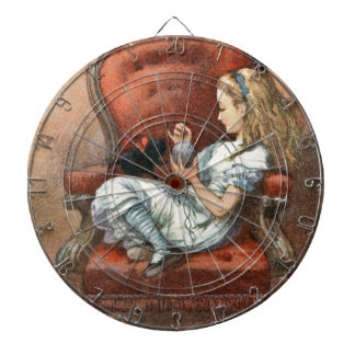 Alice and her Kitten Dartboard